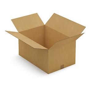 Kartonnen doos in enkele golf 60x40x31