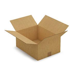 Kartonnen doos in enkelgolf 40x30x18 cm