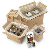 Kartonnen doos voor gevaarlijke producten