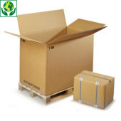 Kartonnen driedubbelgolfcontainer