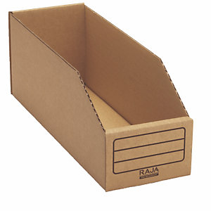 Kartonnen magazijnbakken L, per set van 50