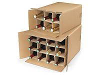 Kartony do wysyłki wina