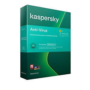 Kaspersky, Software box, Kav 2020 1dev 1y, KL1171T5AFS-20S