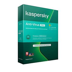 Kaspersky, Software box, Kav 2020 3dev 1y it pro, KL1171T5CFS-PRO