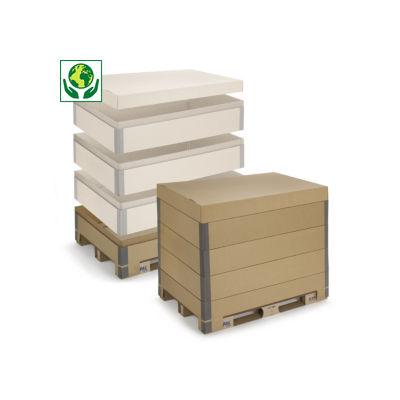 Rehausse carton KAYPAL##KAYPAL Kartonnen palletopzetrand