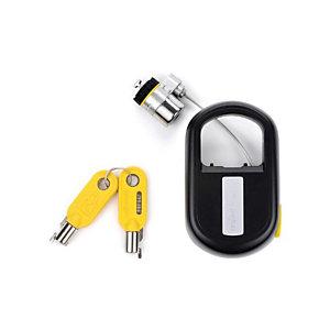 Kensington Candado retráctil con llave para portátiles MicroSaver®, 1,2 m, Kensington, Llave redonda, Negro K64538EU