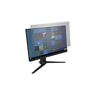 """Kensington Filtro antirreflejos y de reducción de luz azul para monitores 16:9 de 24"""", Monitor, Filtro de privacidad para pantallas sin marco, Tereftalato de polietileno (PET), Transparente, Antideslumbrante, Anti-microbial, LCD 627558"""