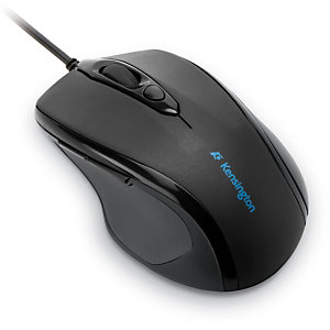 Kensington Pro Fit® Mouse a filo ergonomico, Nero