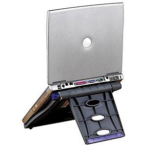 """Kensington SmartFit™ Easy Riser™ Supporto di raffreddamento per notebook da 12"""" a 17"""", Nero"""