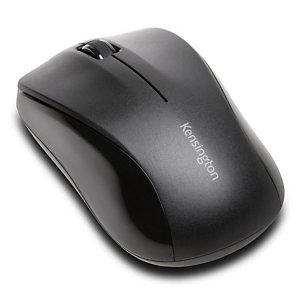 KENSINGTON Valu, souris sans fil optique 3 boutons pour droitiers et gauchers- USB - noir