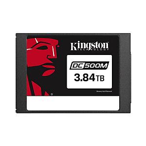 "Kingston Technology DC500, 3840 GB, 2.5"", 555 MB/s, 6 Gbit/s SEDC500M/3840G"