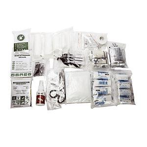 Kit 10 personnes pour armoires à pharmacie Esculape