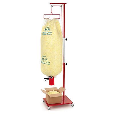 Kit 2 sacos standard Styrofill + distribuidor móvel