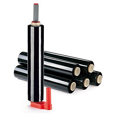 Kit 6 bobinas film estirable opaco 23 micras RAJA® + 1 portarrollos plástico
