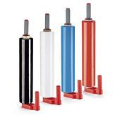 Kit 6 rolos filme estirável opaco 23 mícrones RAJASTRECH + 1 desenrolador de plástico