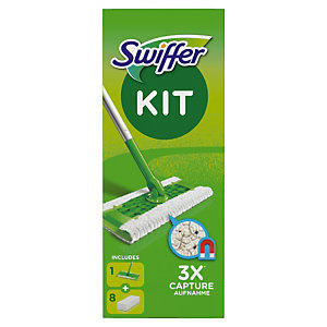 Kit bezem Swiffer + 8 navullingen