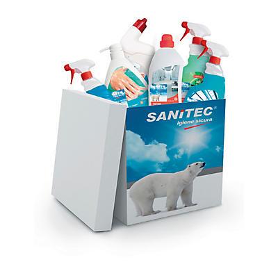 Kit detergenti disinfettanti Sanitec