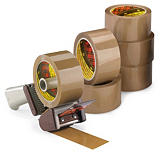 Kit med 3M PP pakketape + dispenser