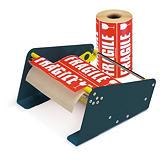 """Kit med """"FRAGILE"""" etiketter til transport"""
