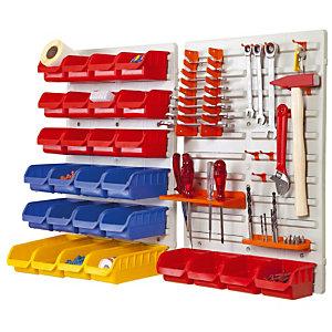 Kit de rangement mural pour outils