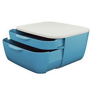 Klasseerblok Leitz Cosy blauwe kleur