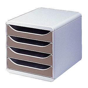 Klasseermodule Big Box classic Exacompta kleur grijs/ grijs