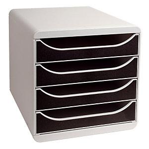 Klasseermodule Big Box classic Exacompta kleur grijs/ zwart