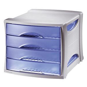 Klasseermodule Intego Esselte kleur doorschijnend blauw