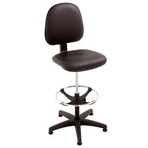 Klassieke vinyl stoel