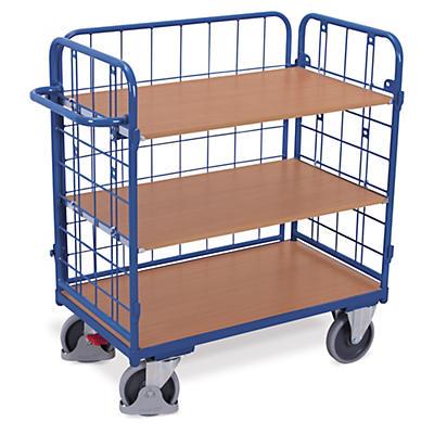 Klecový plošinový vozík patrový