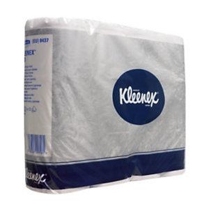 Kleenex 210 papier toilette standard 210feuilles double épaisseur -Blanc