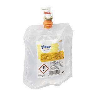 Kleenex® Air Care Energy, Recarga de fragancia, 300 ml, 1,5 x 13,5 x 16,5 cm, cítricos y hierbas cálidas, transparente