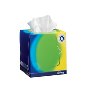Kleenex® Balsam Pañuelos faciales, 3 capas, 56 hojas, 200mm, blanco
