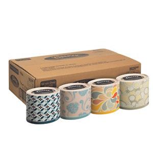 Kleenex® Collection «Ovale», mouchoirs triple épaisseur, 64mouchoirs, 210mm, blanc