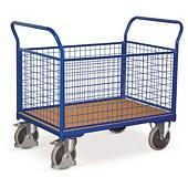 Klietkový plošinový vozík