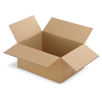Klopové krabice z päťvrstvovej vlnitej lepenky RAJABOX, A4, A4 +