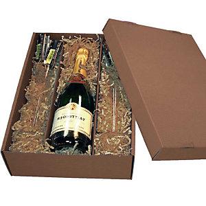KNAUER 10 Caissettes pour bouteille de vin nature