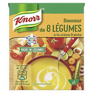 Knorr Douceur 8 légumes - Soupe en brique de 30 cl