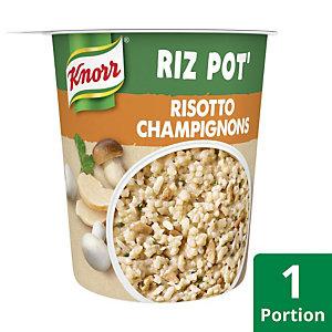 KNORR Riz Pot Risotto Champignons - Plat préparé - 75g
