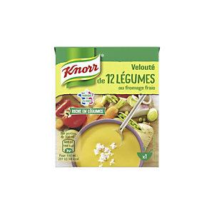 KNORR Velouté 12 légumes au fromage frais - Soupe en brique de 30 cl