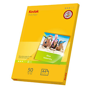 Kodak - Carta Fotografica Photo Gloss - A4 -180 gr - 50 fogli - 5740-513
