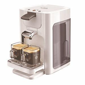 Koffieset Senseo Quadrante, oneindig wit