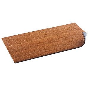 Kokos borstelmat 33 x 70 cm dikte 17 mm kleur naturel