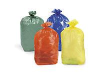 Kolorowe worki na śmieci