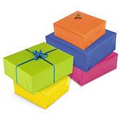 Kolorowy papier do pakowania prezentów rolka 700 mm x 50 m