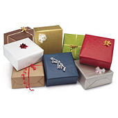 Kolorowy  papier kraft do pakowania prezentów