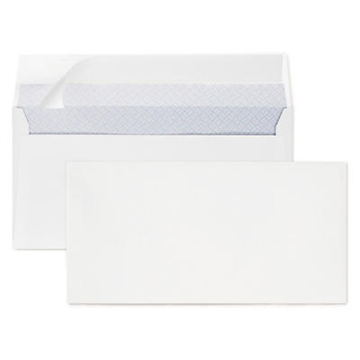Konvolutter med selvklæbende lukning og beskyttelsespapir