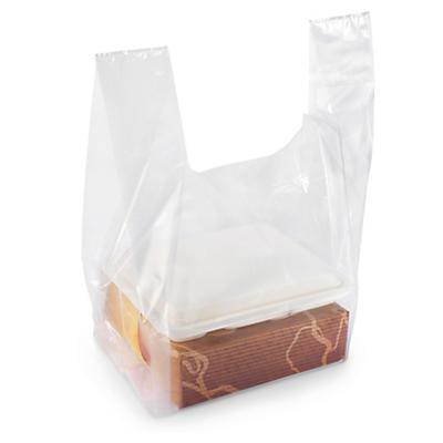 Košilkové igelitové tašky pro krabice