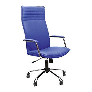 Kosmo Poltrona presidenziale, Poliuretano, Blu