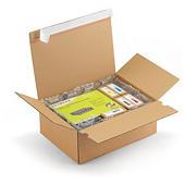 Krabice s automatickým dnom a samolepiacim prúžkom